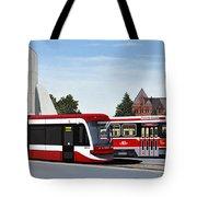The Toronto Streetcar 100 Years Tote Bag