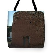 The Torreon In Lincoln City New Mexico Tote Bag by Jeff Swan