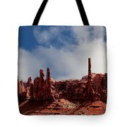 The Totems Monument Valley Tote Bag