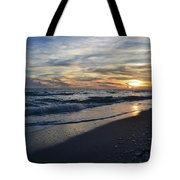 The Touch Of The Sea Tote Bag