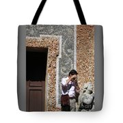 The Tourist And His Lady Tote Bag