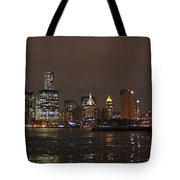 The Tower And The Bridge Tote Bag