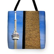 The Tower And The Stack Tote Bag