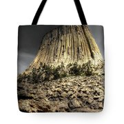 The Tower Of Boulders Tote Bag