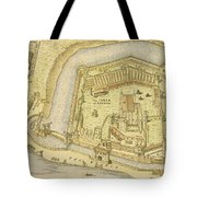 The Tower Of London, From A Survey Made Tote Bag