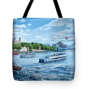 The Tower Of London Tote Bag
