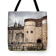 The Tower Of London Uk The Historic Royal Palace And Fortress Tote Bag