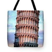 The Tower Of Pisa Tote Bag