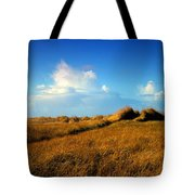 The Trail Through The Grass Tote Bag