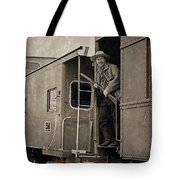 The Train Robber Tote Bag