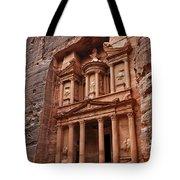 The Treasury In Petra Jordan Tote Bag