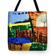 The Tree Of Knowledge Of Good And Evil Tote Bag by Anthony Falbo