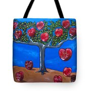 The Tree Of Life Tote Bag by Sandra Marie Adams