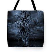 The Tree Of Sawols Cyanotype Tote Bag