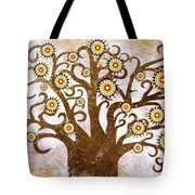 The Tree Tote Bag by Sergey Khreschatov
