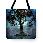The Tree That Wept A Lake Of Tears Tote Bag