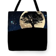 The Tree The Moon The Stars Tote Bag