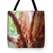 The Trees In Spring Time Tote Bag
