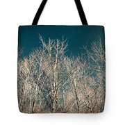 The Trees Of Teal Tote Bag