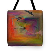 The Tributaries Tote Bag