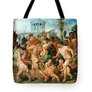 The Triumphal Procession Of Bacchus Tote Bag