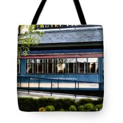 The Trolley Stop - Hotel Fiesole Tote Bag