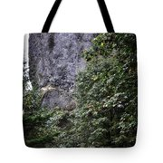 The Tunnel Below The Rock Tote Bag