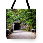 The Tunnel On The Scenic Route Tote Bag