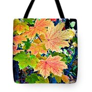 The Turning Leaves Tote Bag