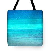 The Turquoise Sea Tote Bag