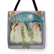 The Twelve Dancing Princesses Tote Bag