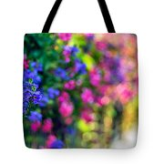 The Twilight Zone...a Journey Thru Color Tote Bag