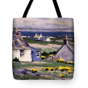 The Two Crofts Tote Bag by Francis Campbell Boileau Cadell