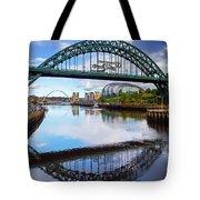 The Tyne Road Bridge With The Sage Tote Bag