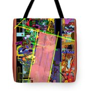 The Tzaddik Lives On Emunah 11 Tote Bag
