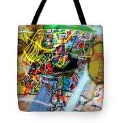 The Tzaddik Lives On Emunah 22 Tote Bag