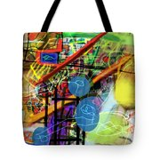 The Tzaddik Lives On Emunah 22c Tote Bag