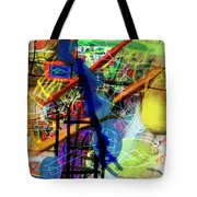 The Tzaddik Lives On Emunah 22d Tote Bag