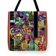 The Tzaddik Lives On Emunah 4 Tote Bag