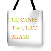 The U Tote Bag