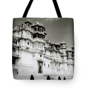 The Udaipur City Palace  Tote Bag