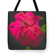 The Ultimate Red Rose Tote Bag
