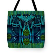 The Under Water Temple Tote Bag