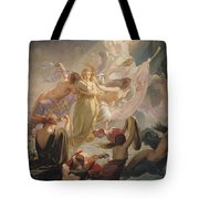 The Undines Or The Voice Of The Torrent Tote Bag by Ernest Augustin Gendron