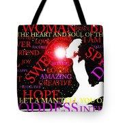 The Universal Woman Tote Bag