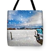 The Unwilling Winter Tote Bag