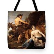 The Upbringing Of Zeus Tote Bag