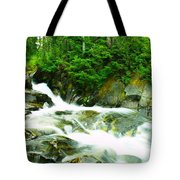 The Upper Paradise River Tote Bag