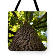 The Upper View - Digital Paint Tote Bag