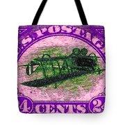 The Upside Down Biplane Stamp - 20130119 - V2 Tote Bag